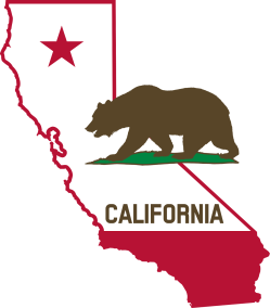 California-Outline-and-Flag-Solid